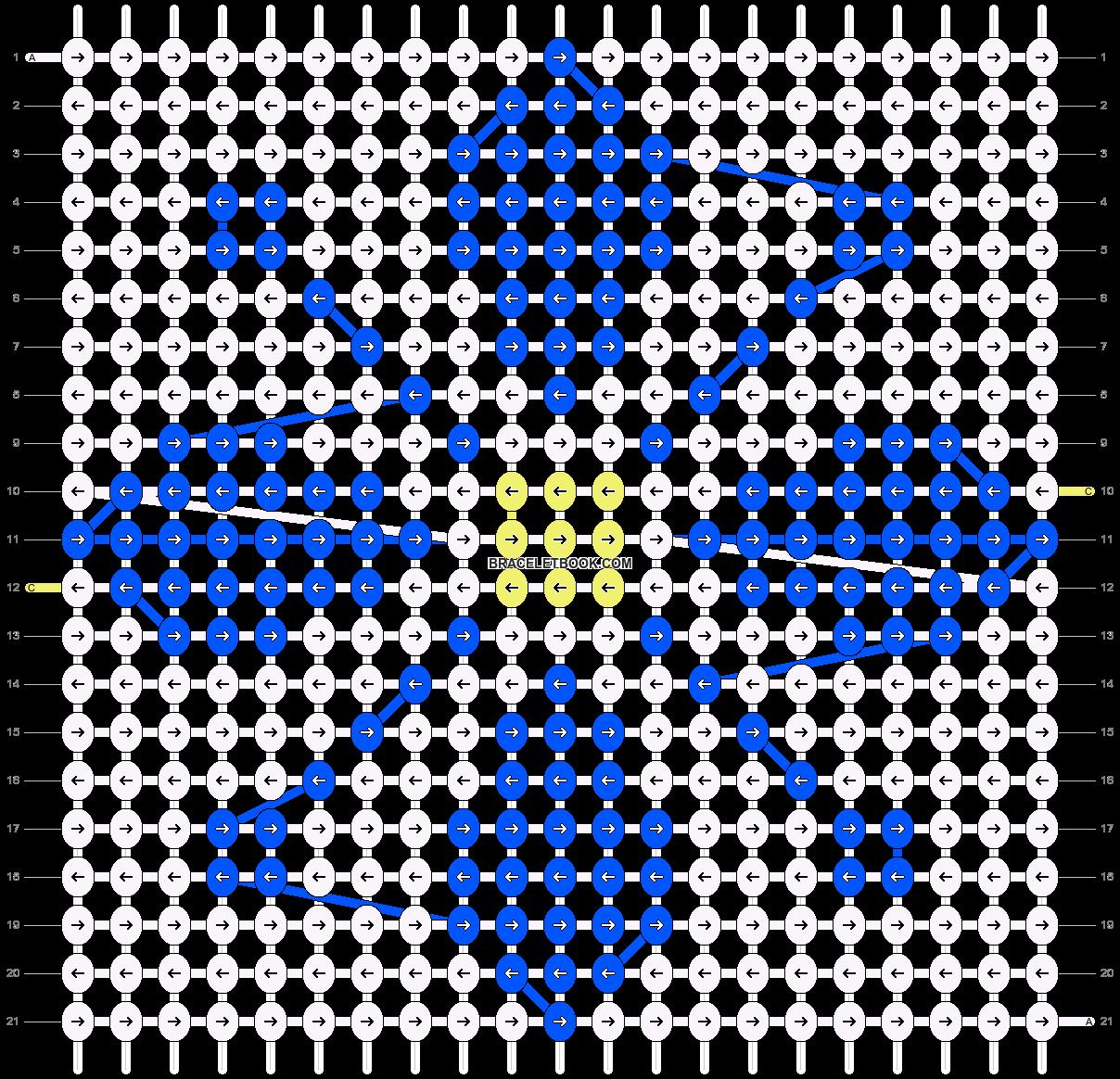 Alpha pattern #43160 pattern