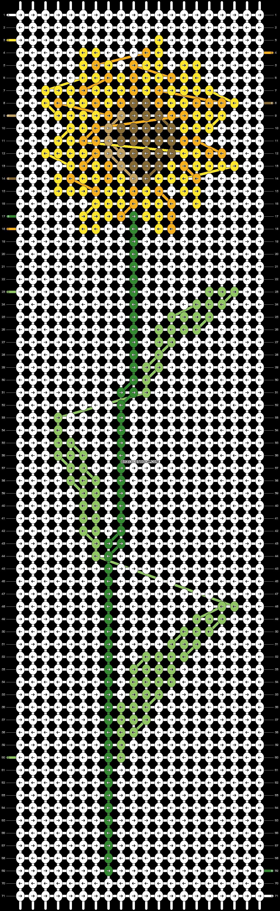 Alpha pattern #43207 pattern