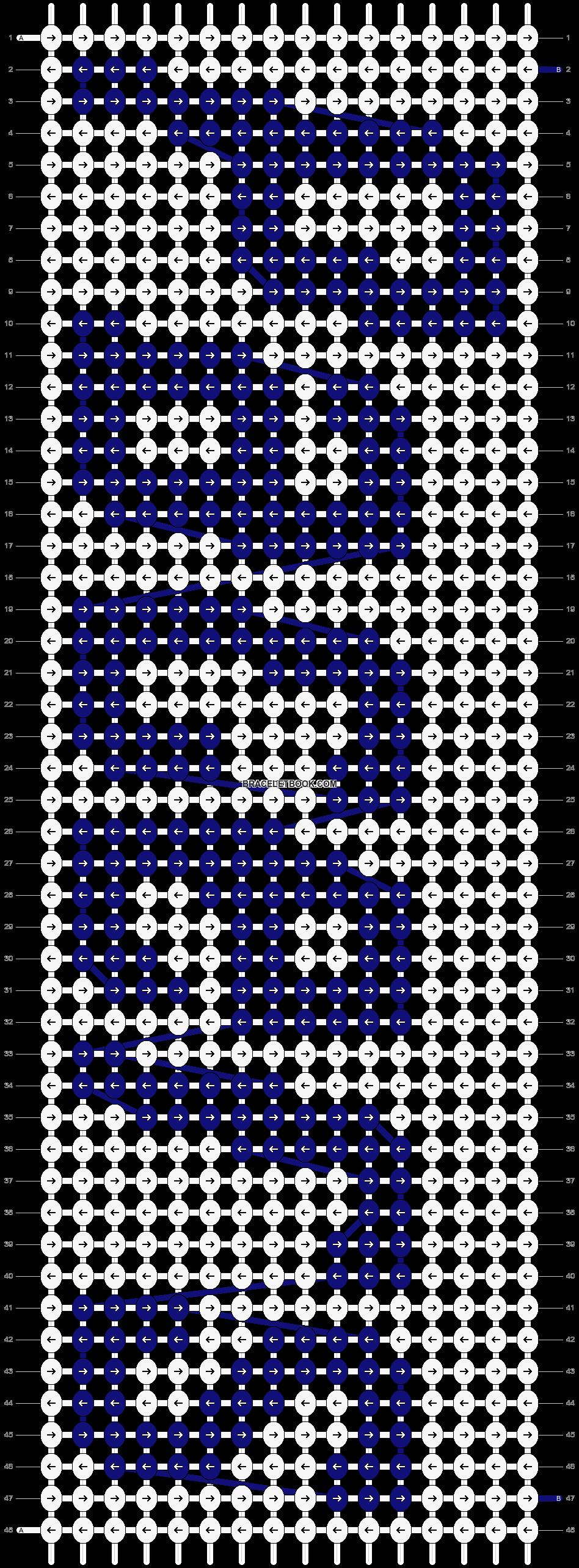 Alpha pattern #43211 pattern