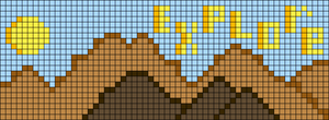 Alpha pattern #43219