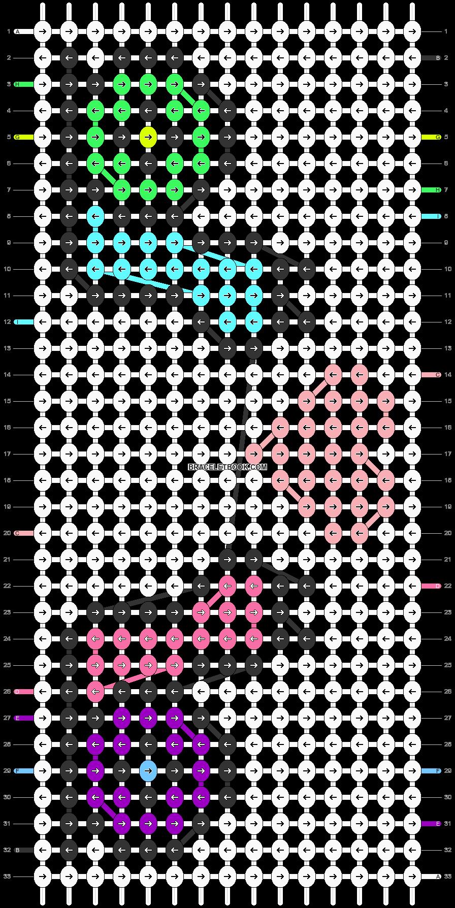 Alpha pattern #43228 pattern