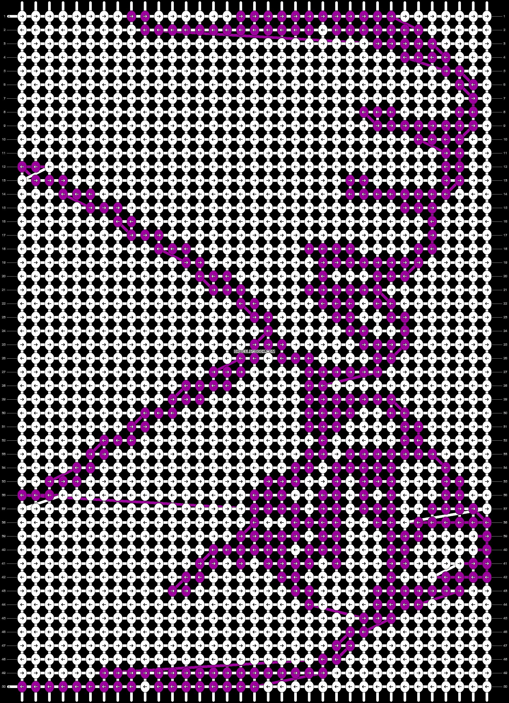 Alpha pattern #43232 pattern