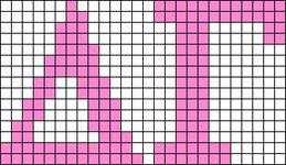 Alpha pattern #43257