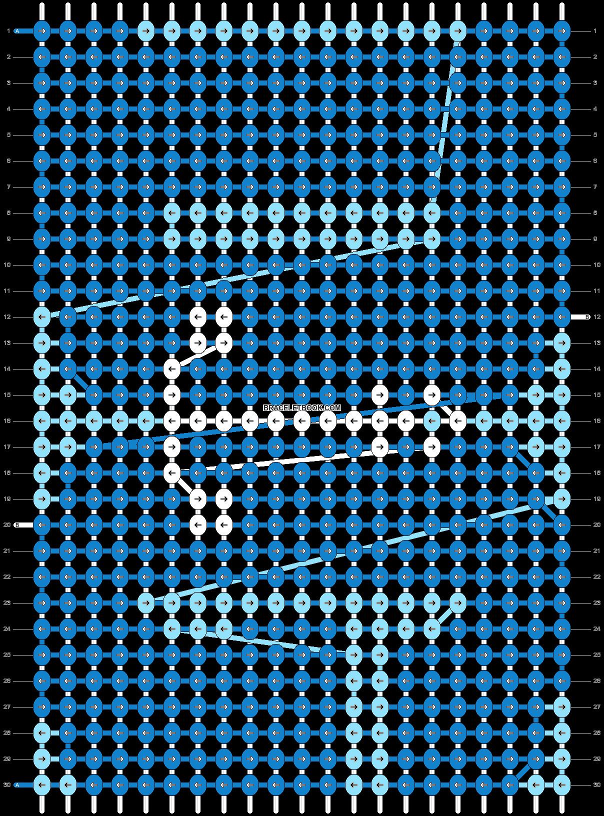 Alpha pattern #43258 pattern