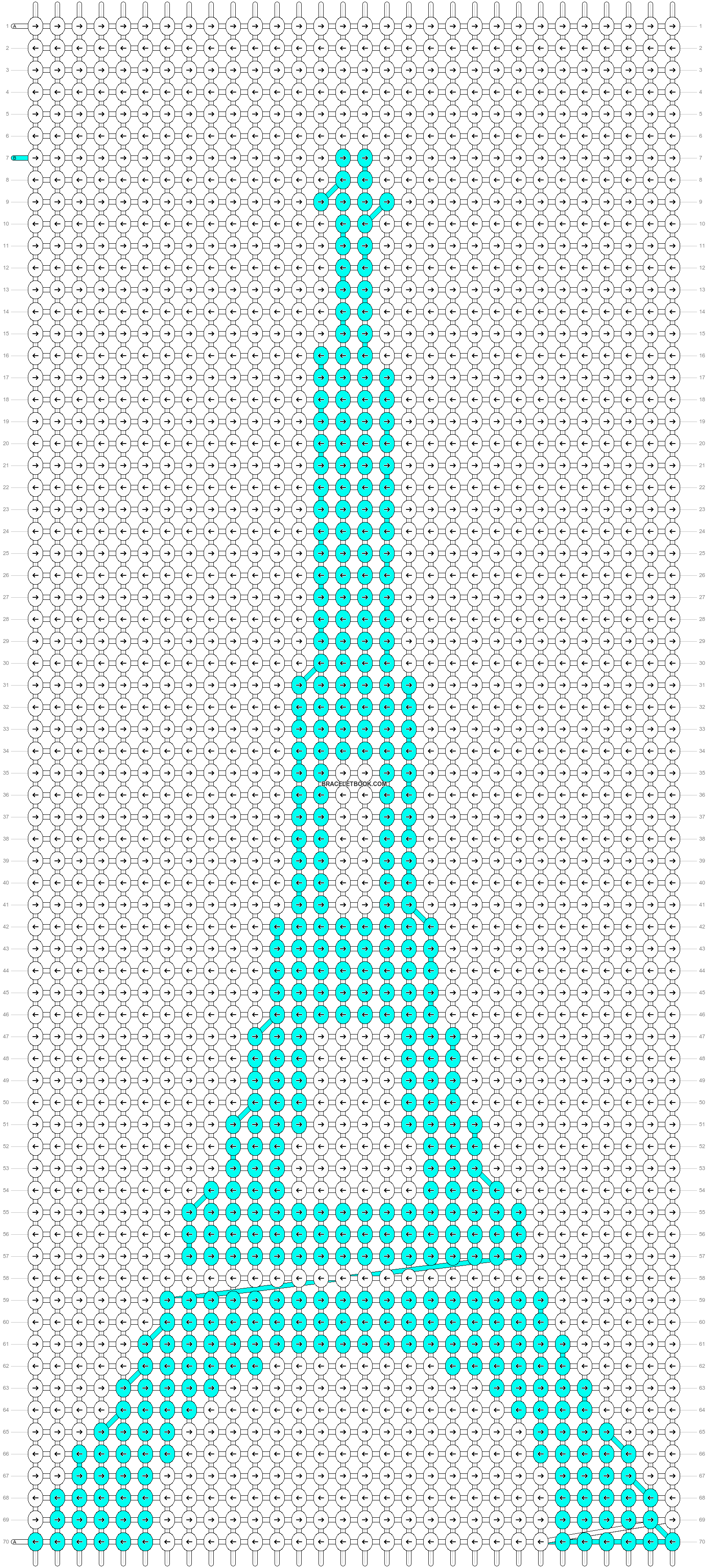 Alpha pattern #43259 pattern