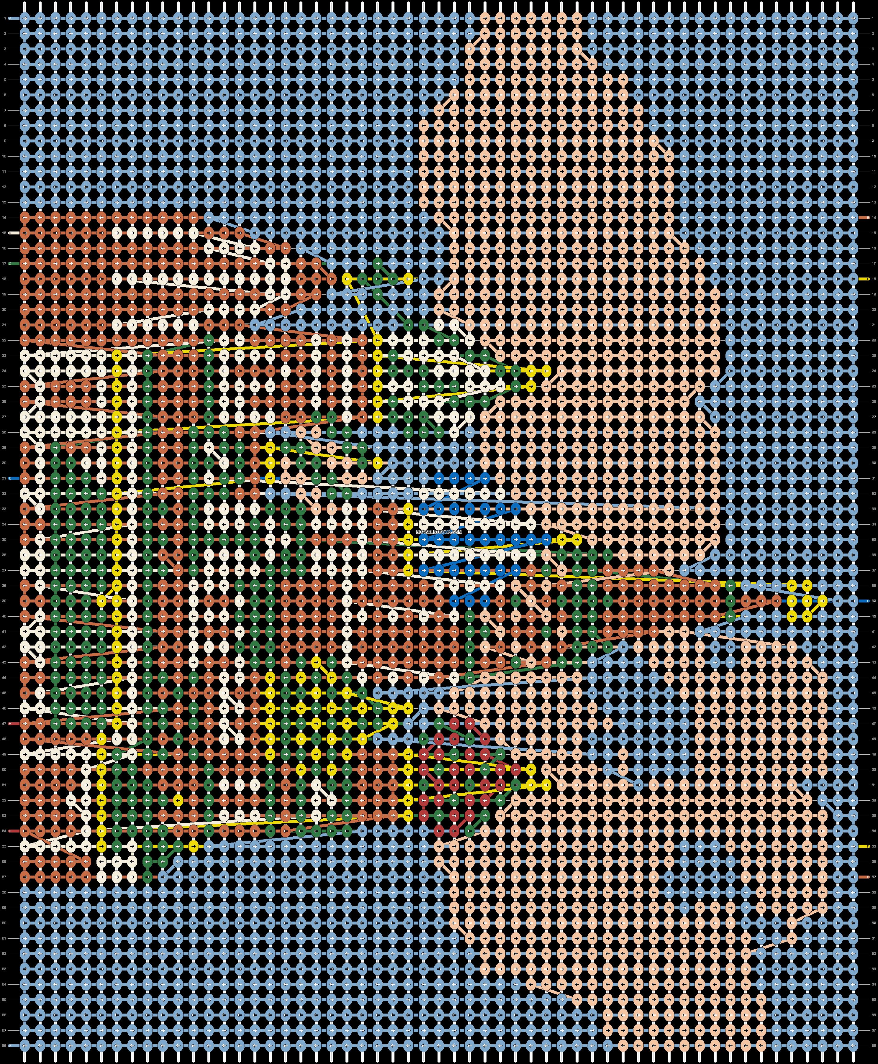 Alpha pattern #43296 pattern