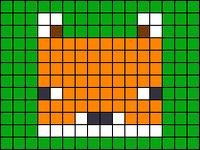 Alpha pattern #43300