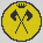 Alpha pattern #43319