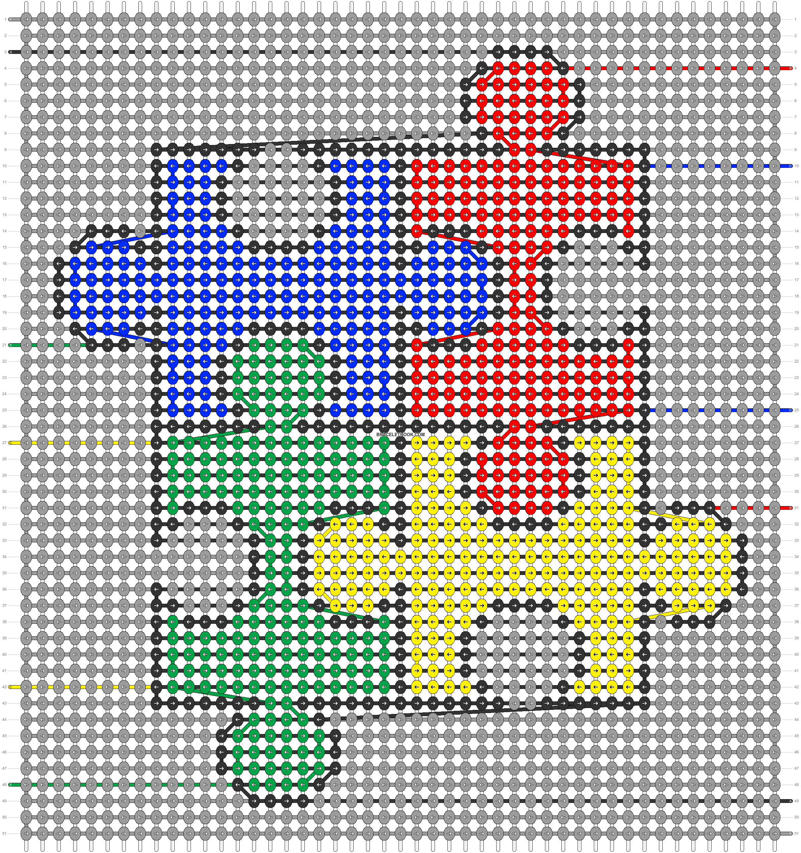 Alpha pattern #43346 pattern