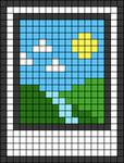 Alpha pattern #43349
