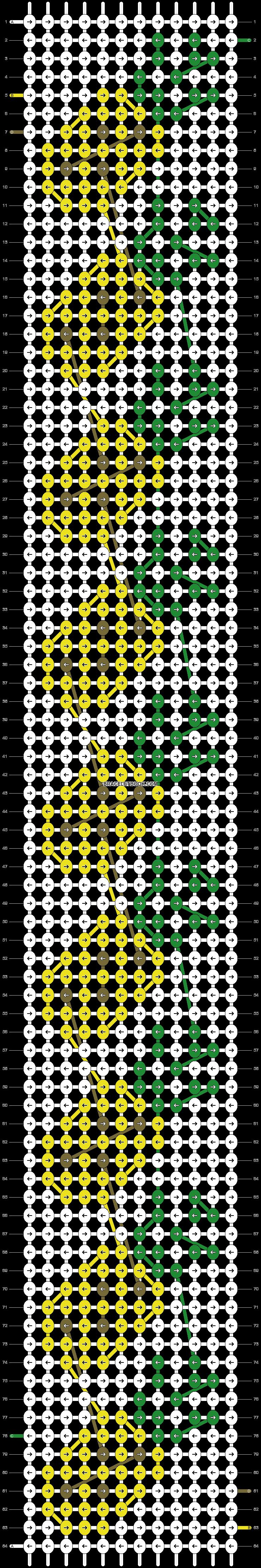 Alpha pattern #43354 pattern