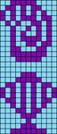 Alpha pattern #43356