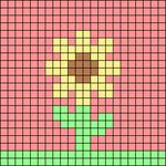 Alpha pattern #43380