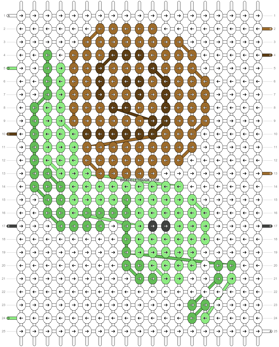 Alpha pattern #43383 pattern