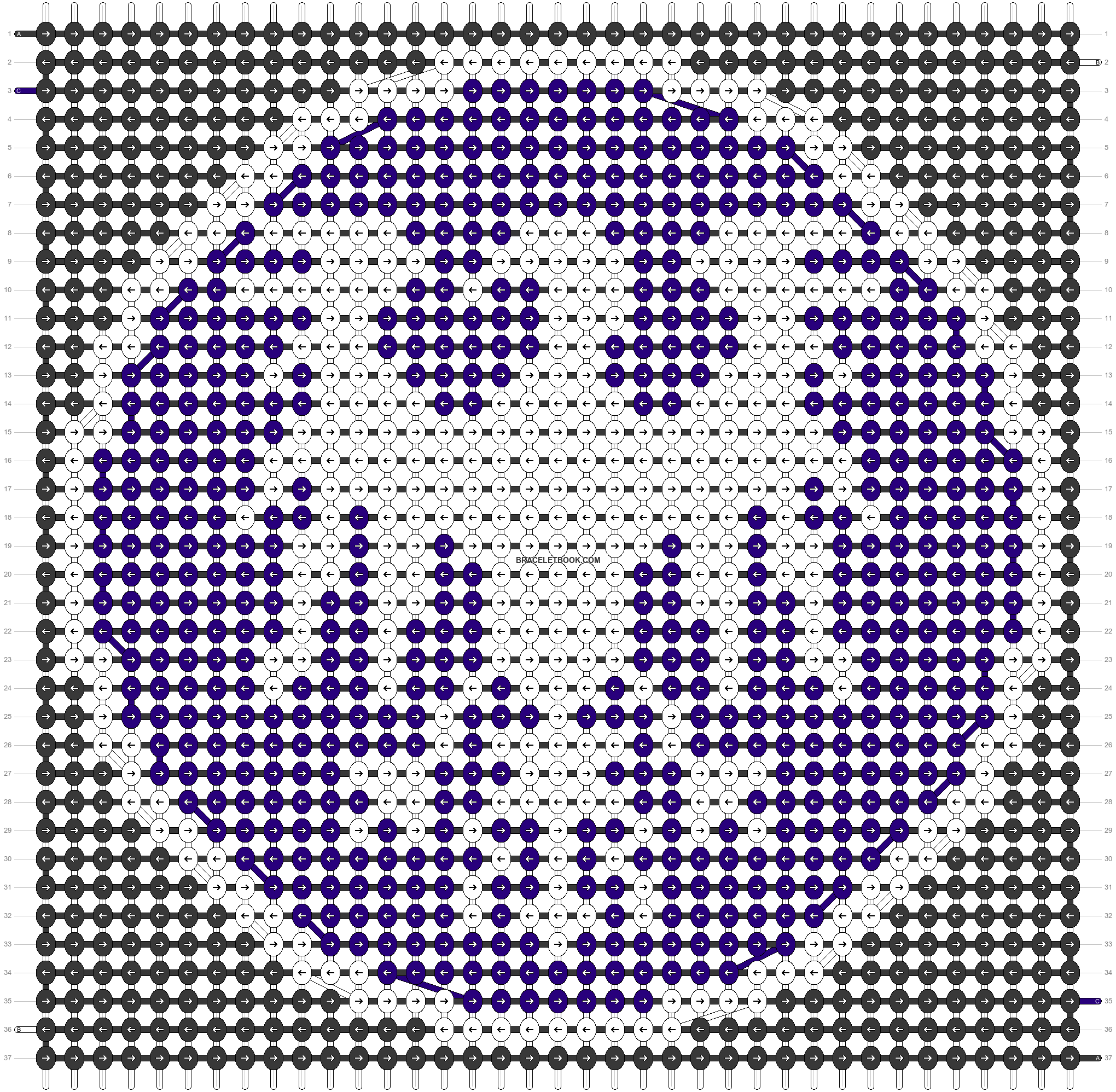 Alpha pattern #43431 pattern