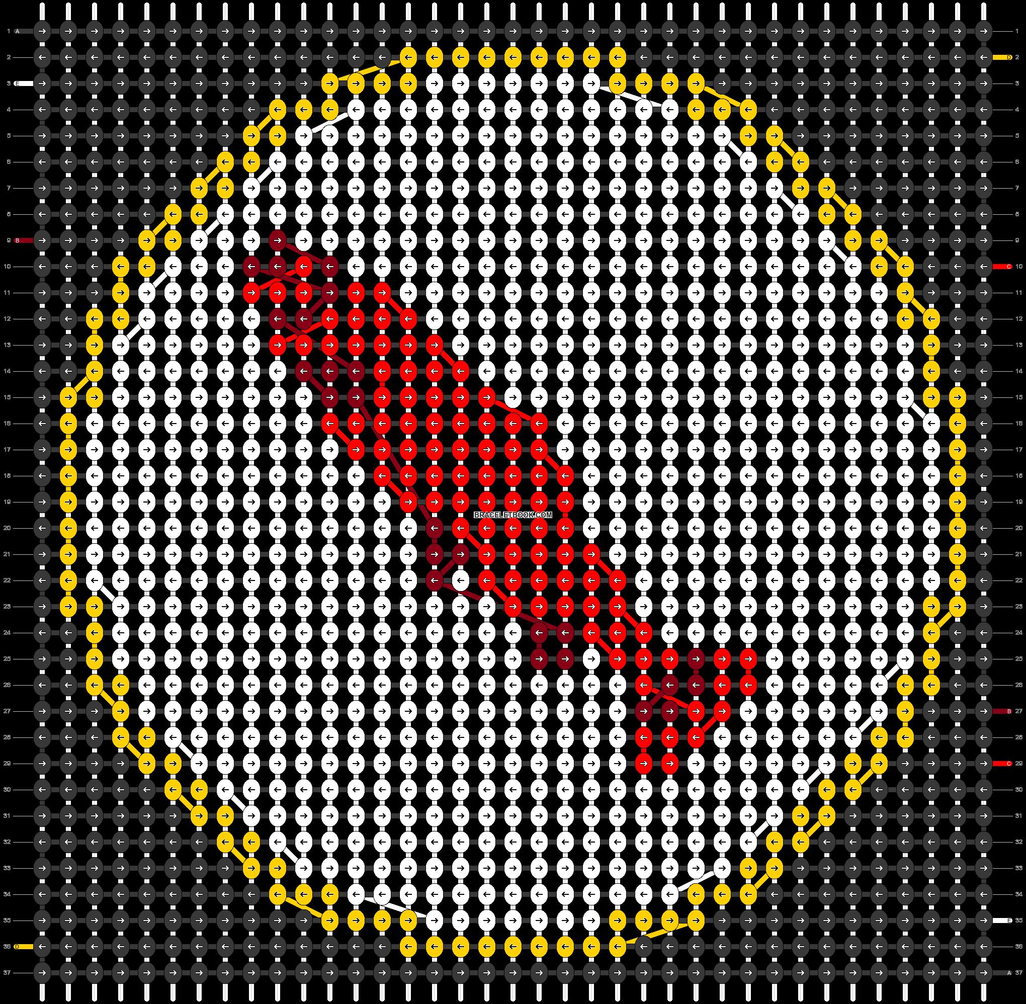 Alpha pattern #43432 pattern