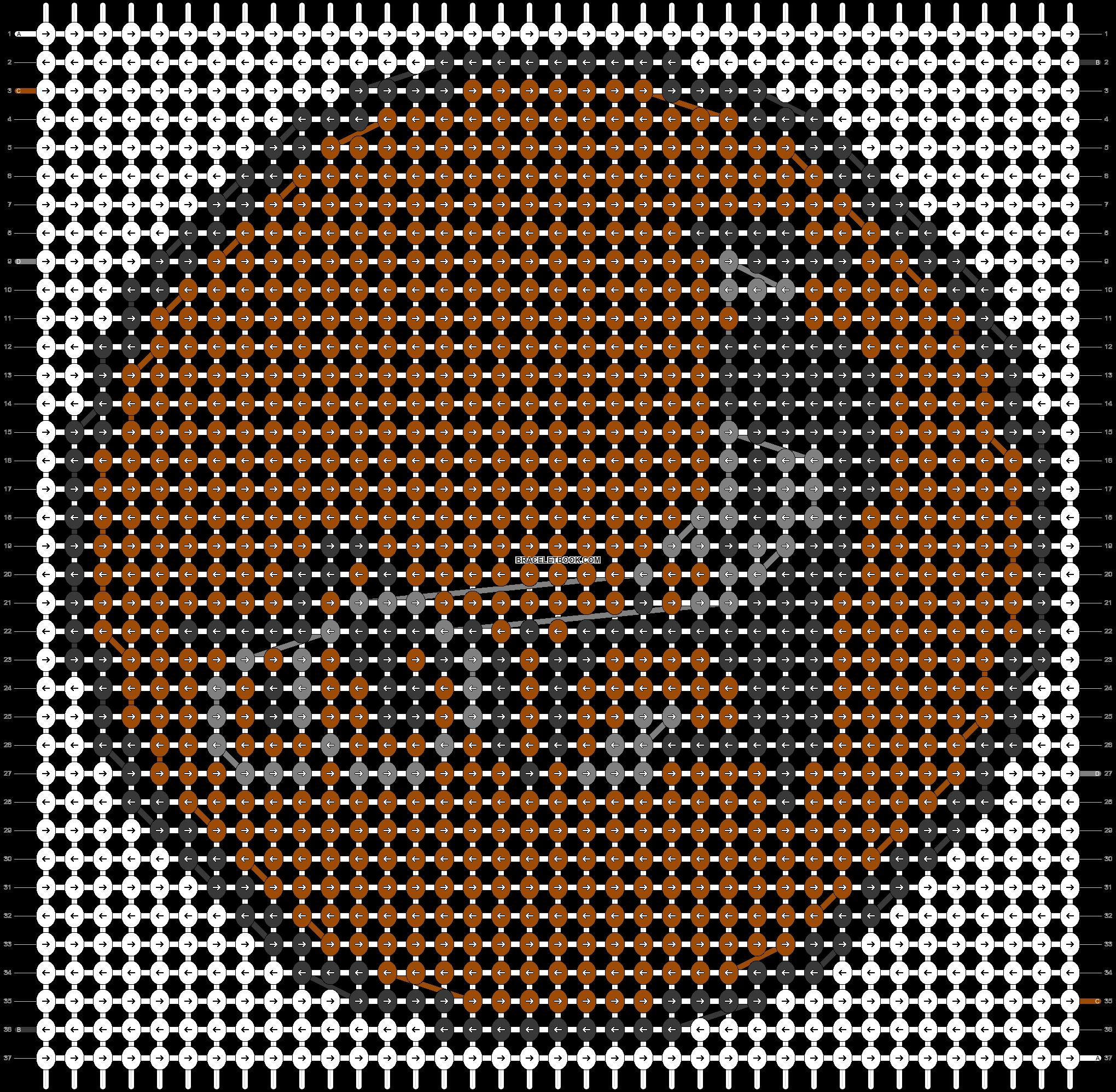 Alpha pattern #43433 pattern