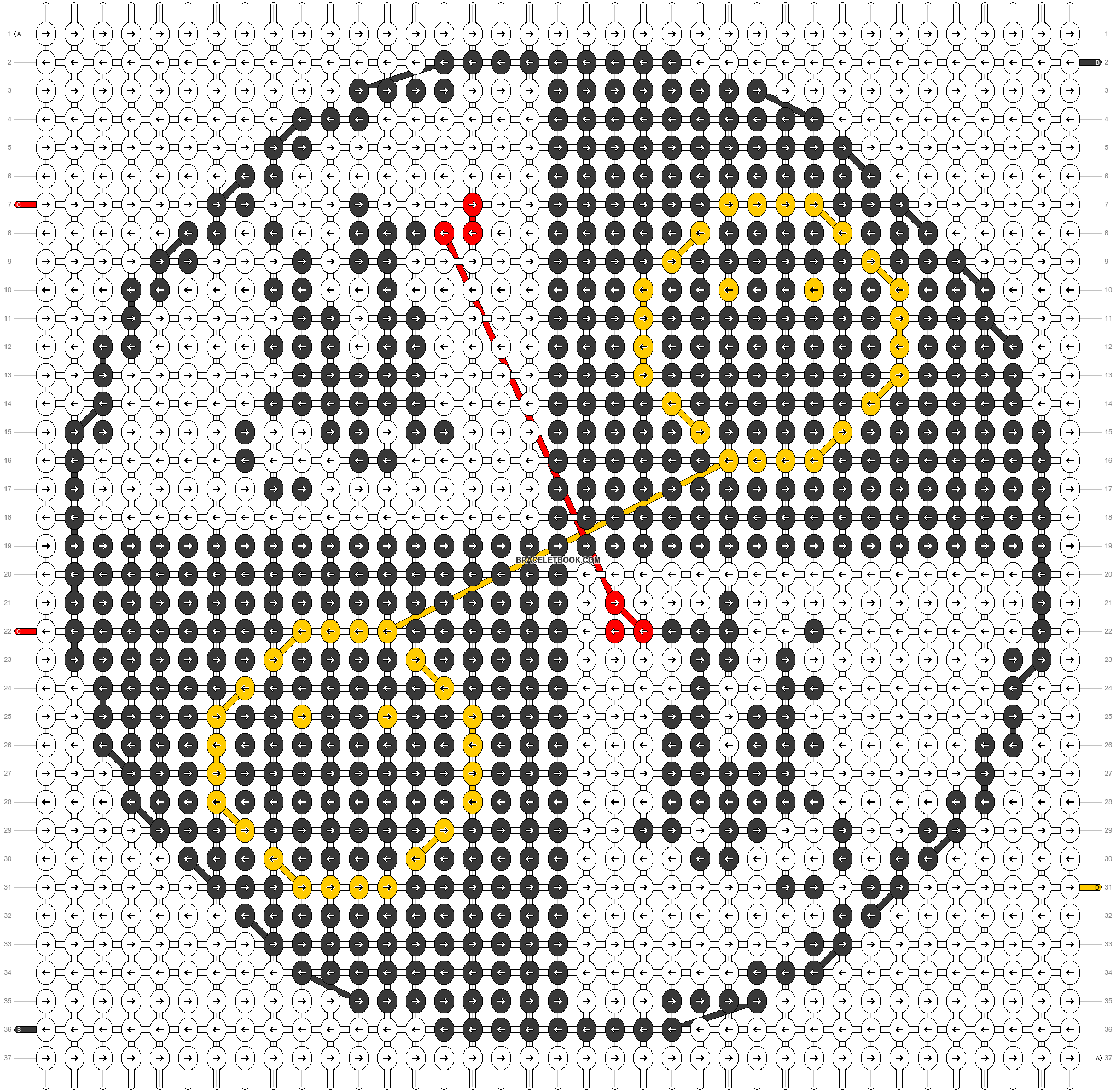 Alpha pattern #43439 pattern