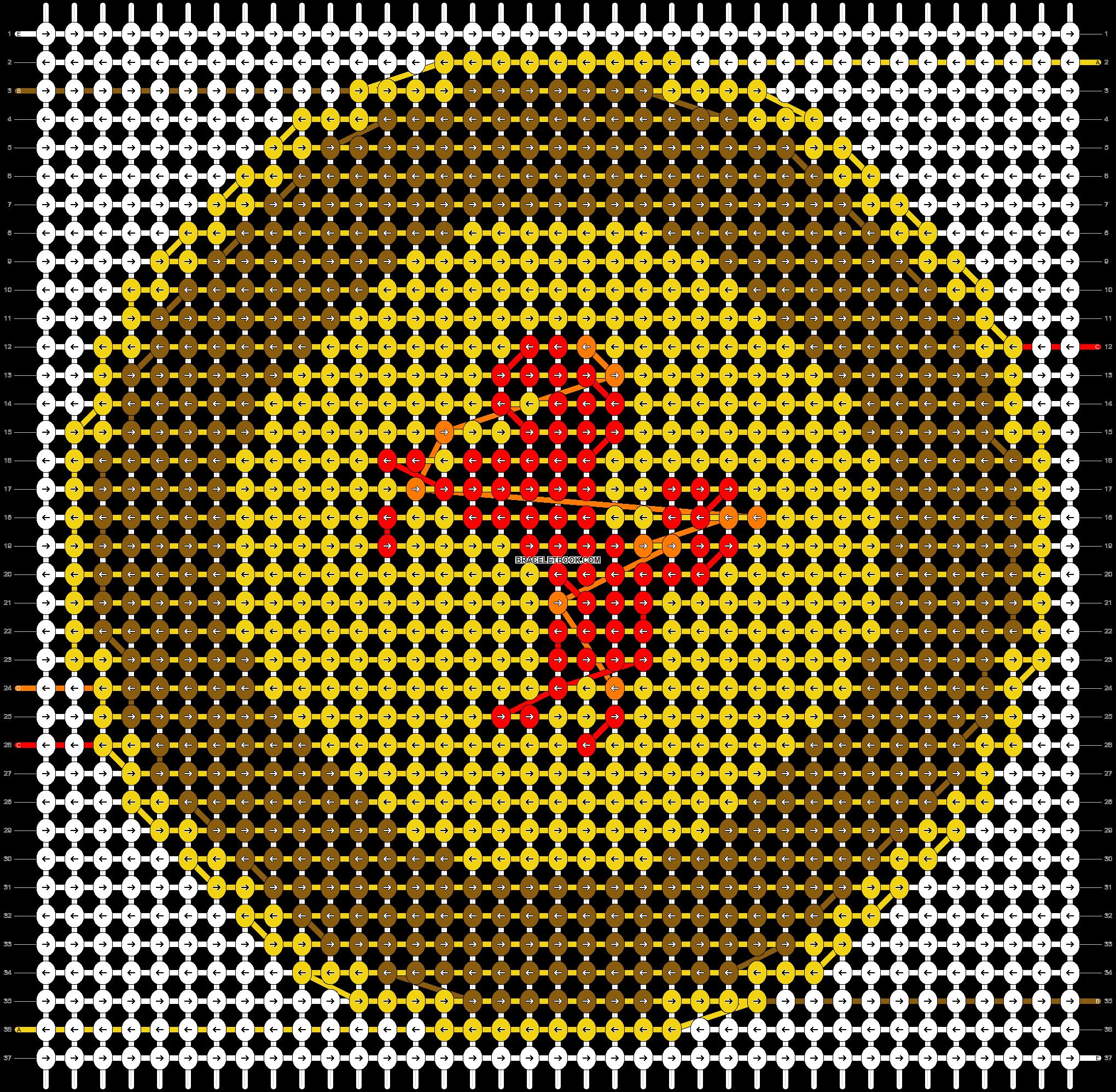 Alpha pattern #43440 pattern