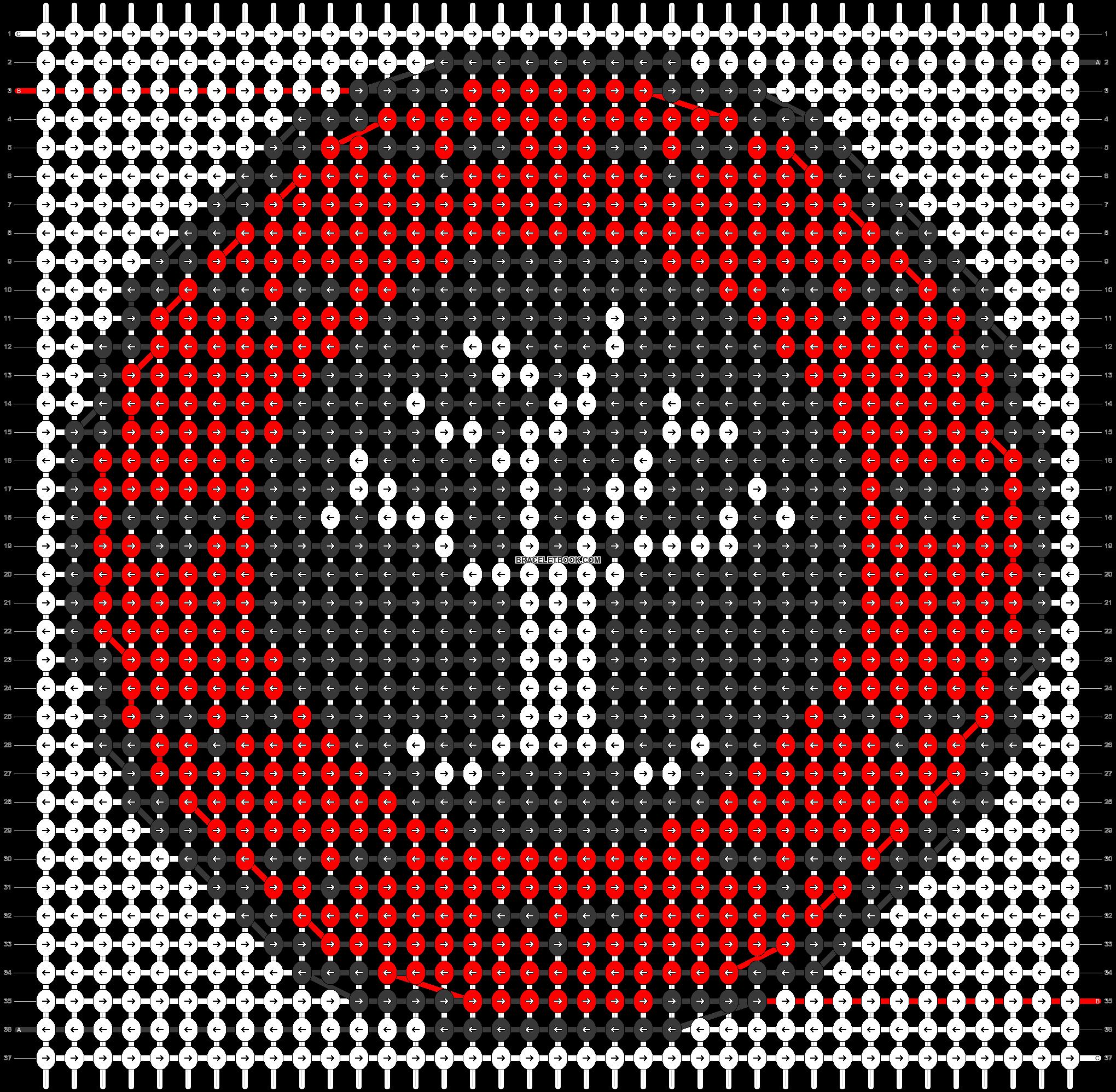 Alpha pattern #43441 pattern