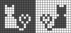 Alpha pattern #43451