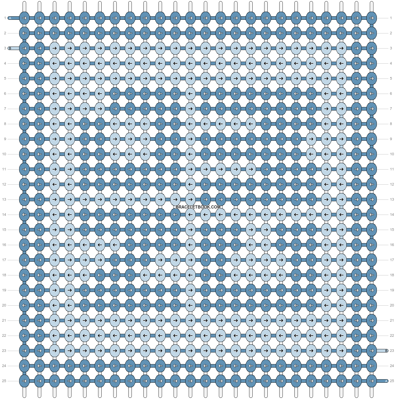 Alpha pattern #43456 pattern