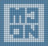 Alpha pattern #43456