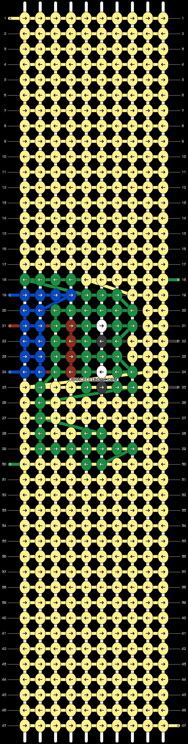 Alpha pattern #43489 pattern