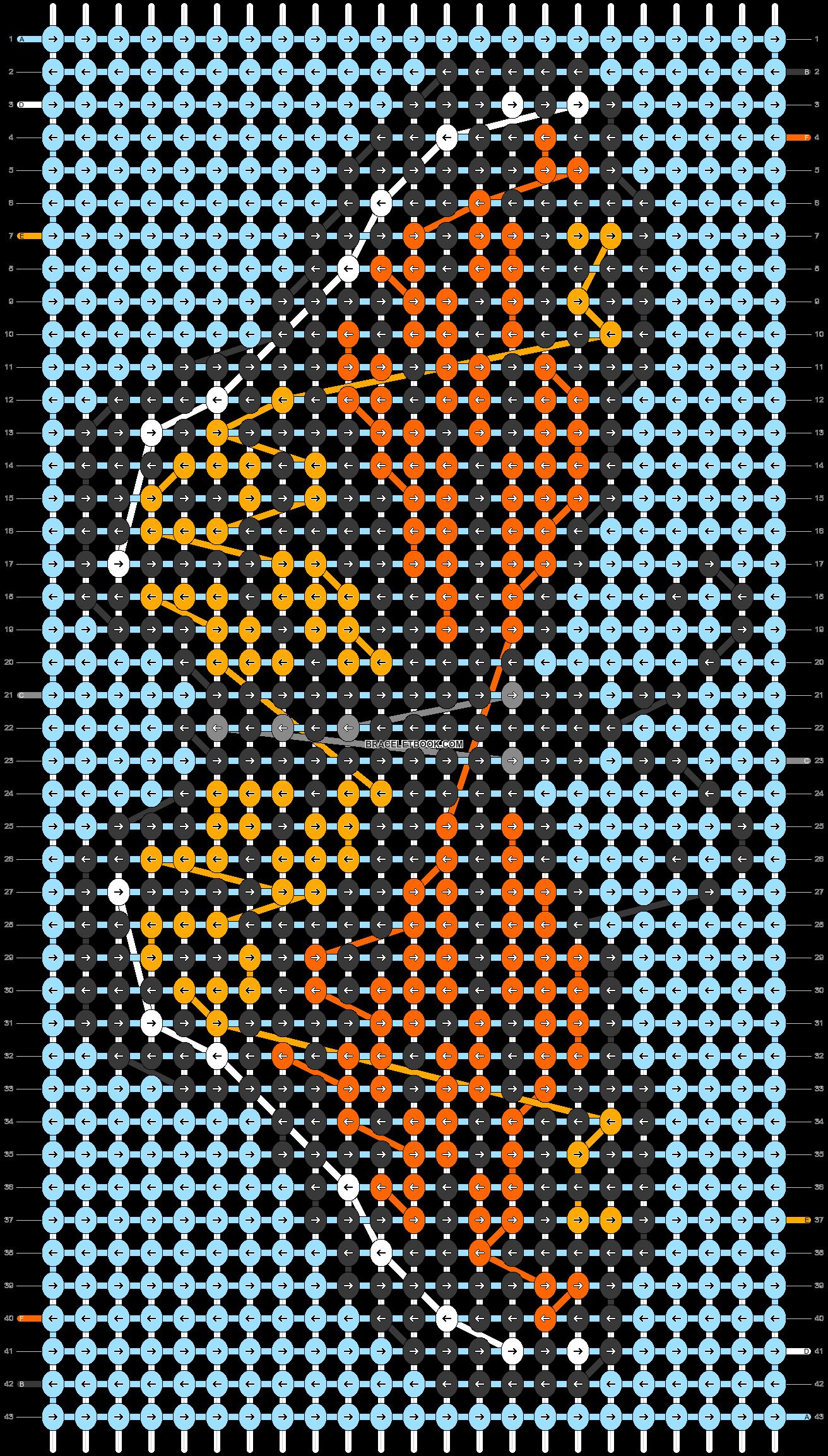 Alpha pattern #43498 pattern