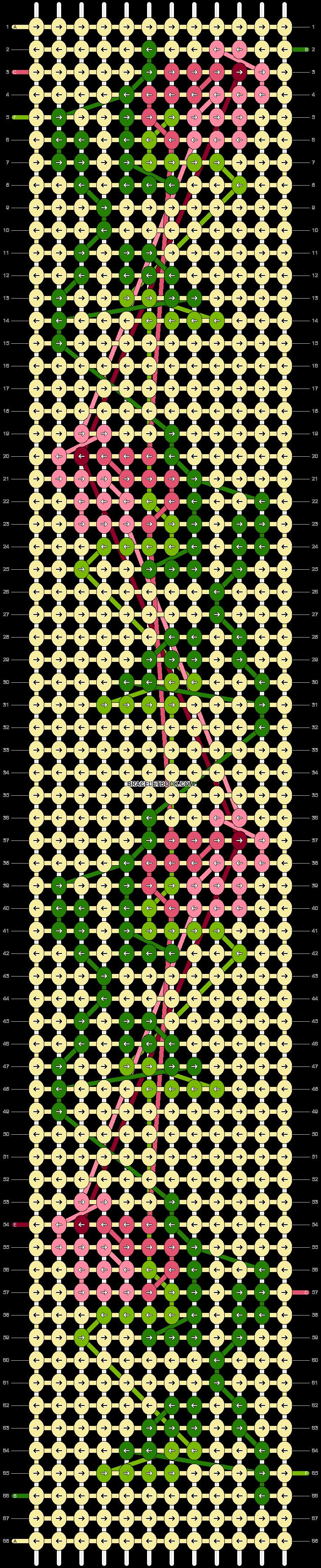 Alpha pattern #43499 pattern
