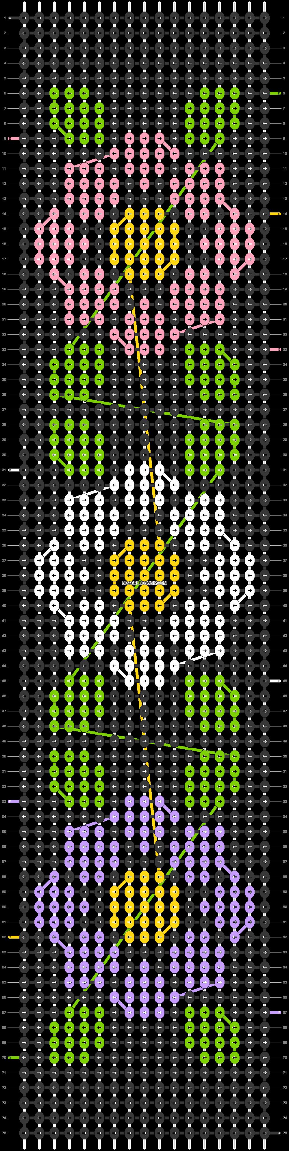 Alpha pattern #43501 pattern