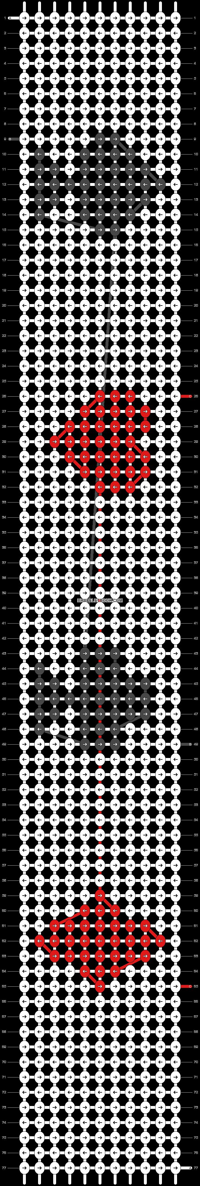 Alpha pattern #43524 pattern