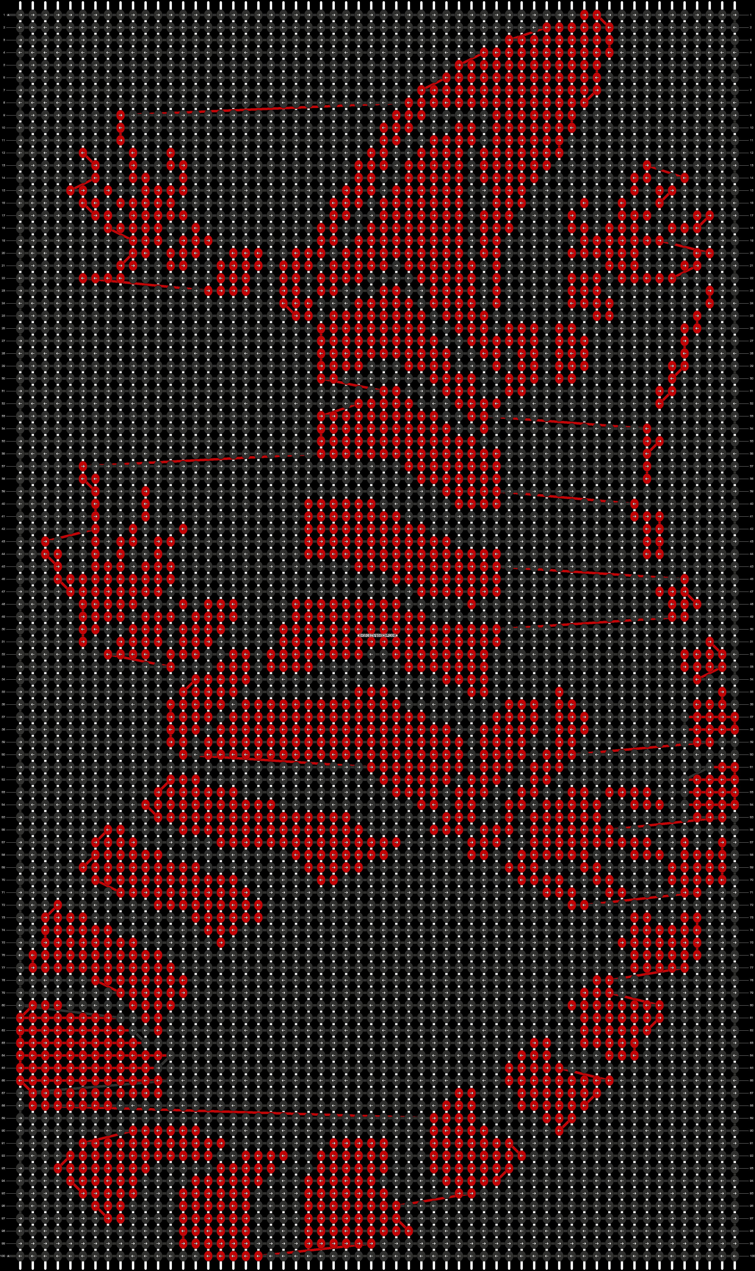 Alpha pattern #43562 pattern