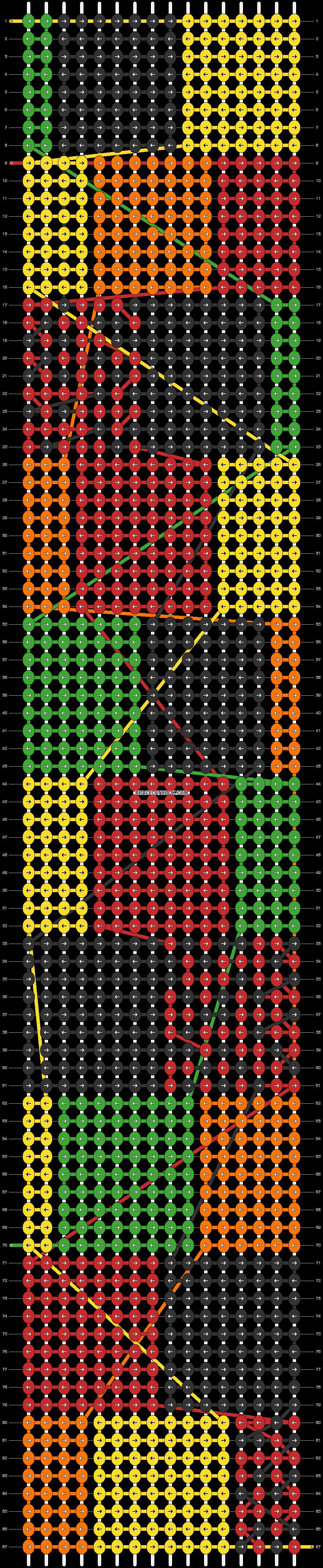 Alpha pattern #43572 pattern