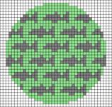 Alpha pattern #43595