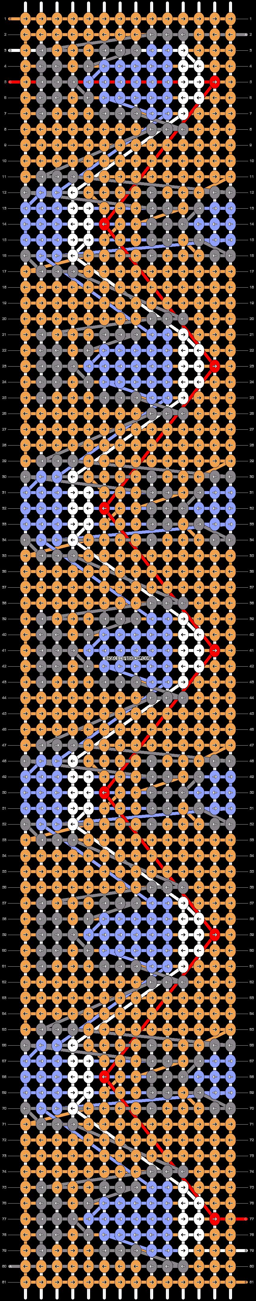 Alpha pattern #43620 pattern