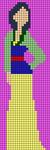 Alpha pattern #43622