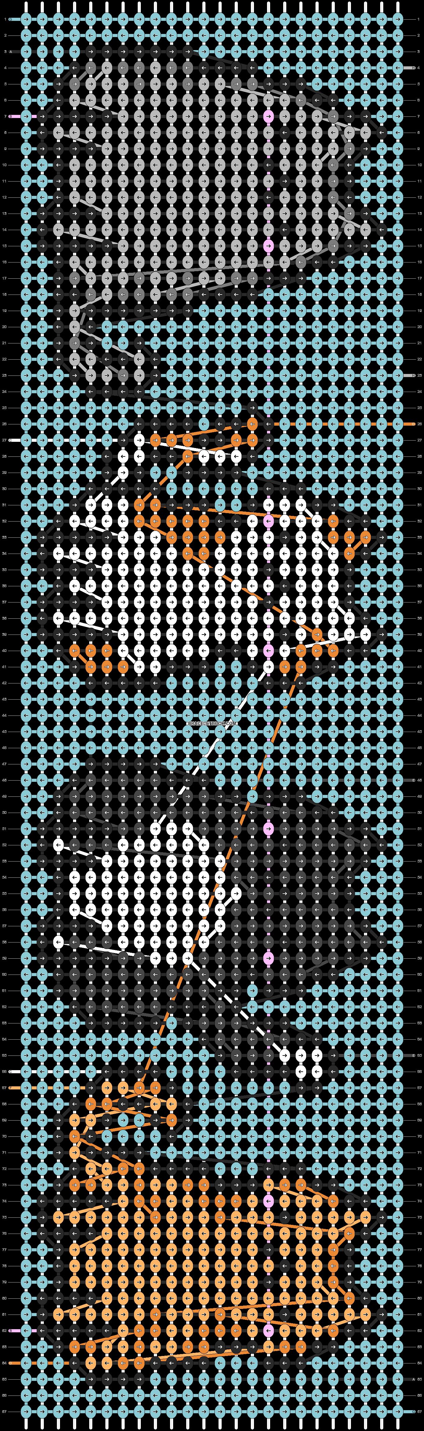 Alpha pattern #43634 pattern