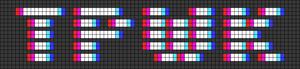 Alpha pattern #43635
