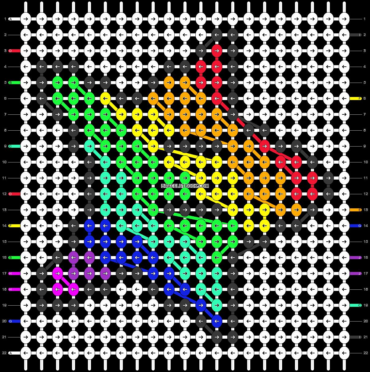 Alpha pattern #43648 pattern