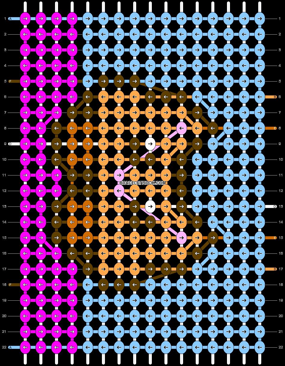 Alpha pattern #43653 pattern