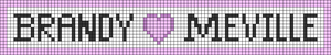 Alpha pattern #43655