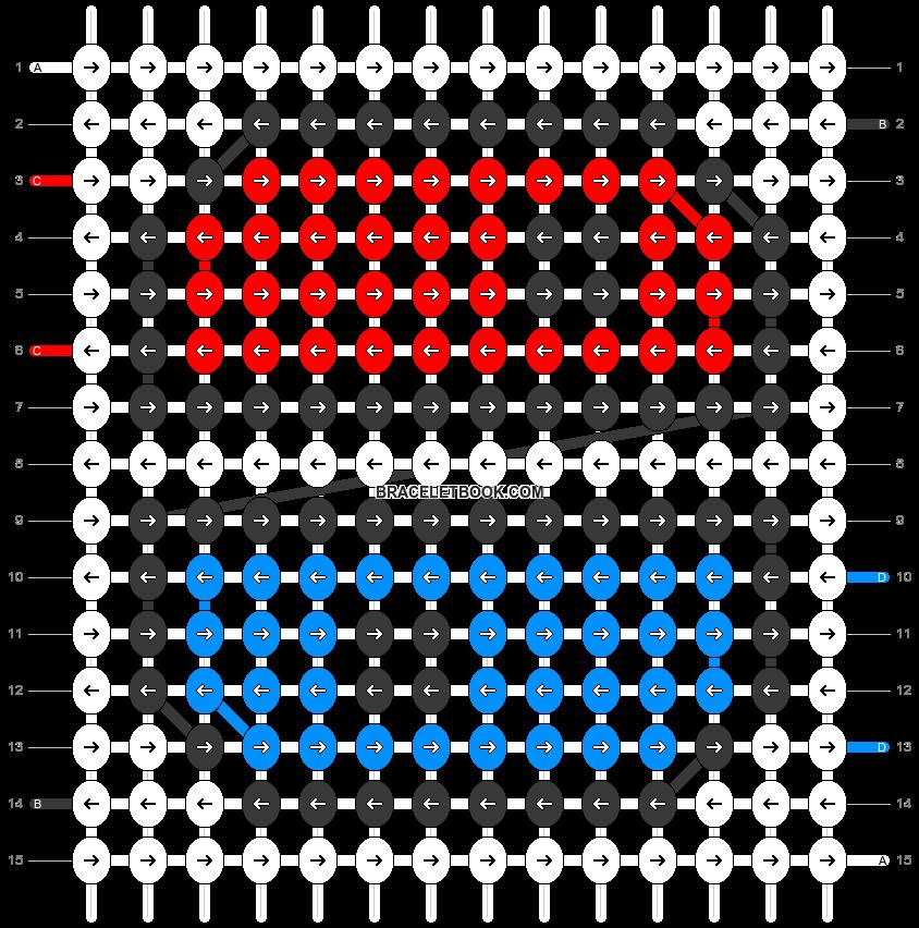 Alpha pattern #43677 pattern