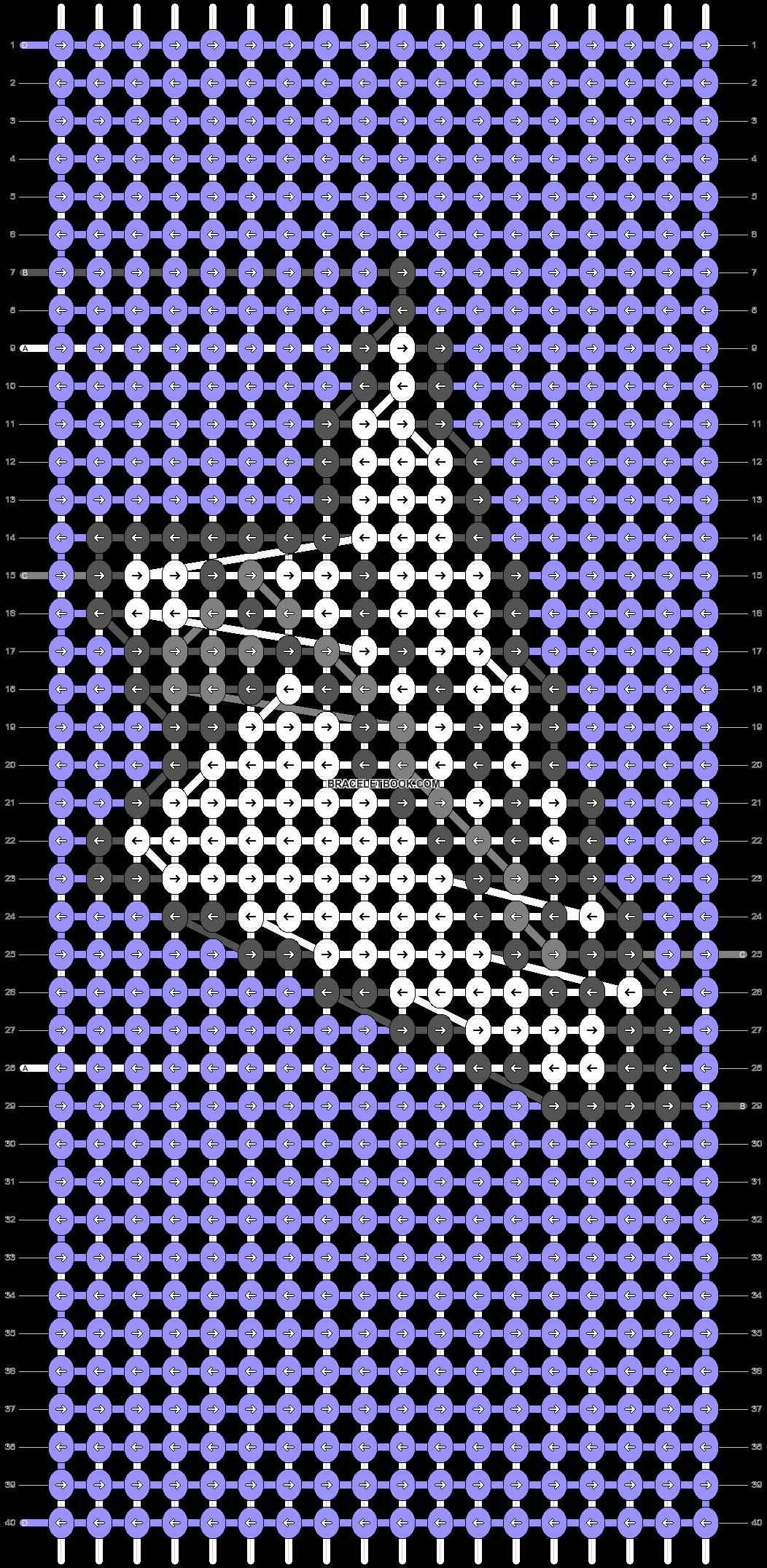 Alpha pattern #43716 pattern