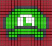 Alpha pattern #43719