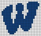 Alpha pattern #43722