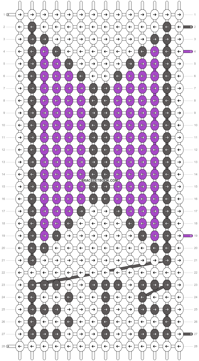 Alpha pattern #43724 pattern