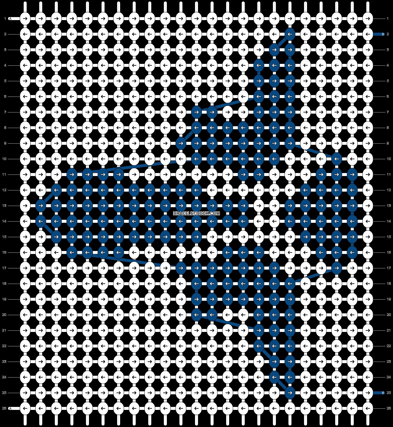 Alpha pattern #43755 pattern