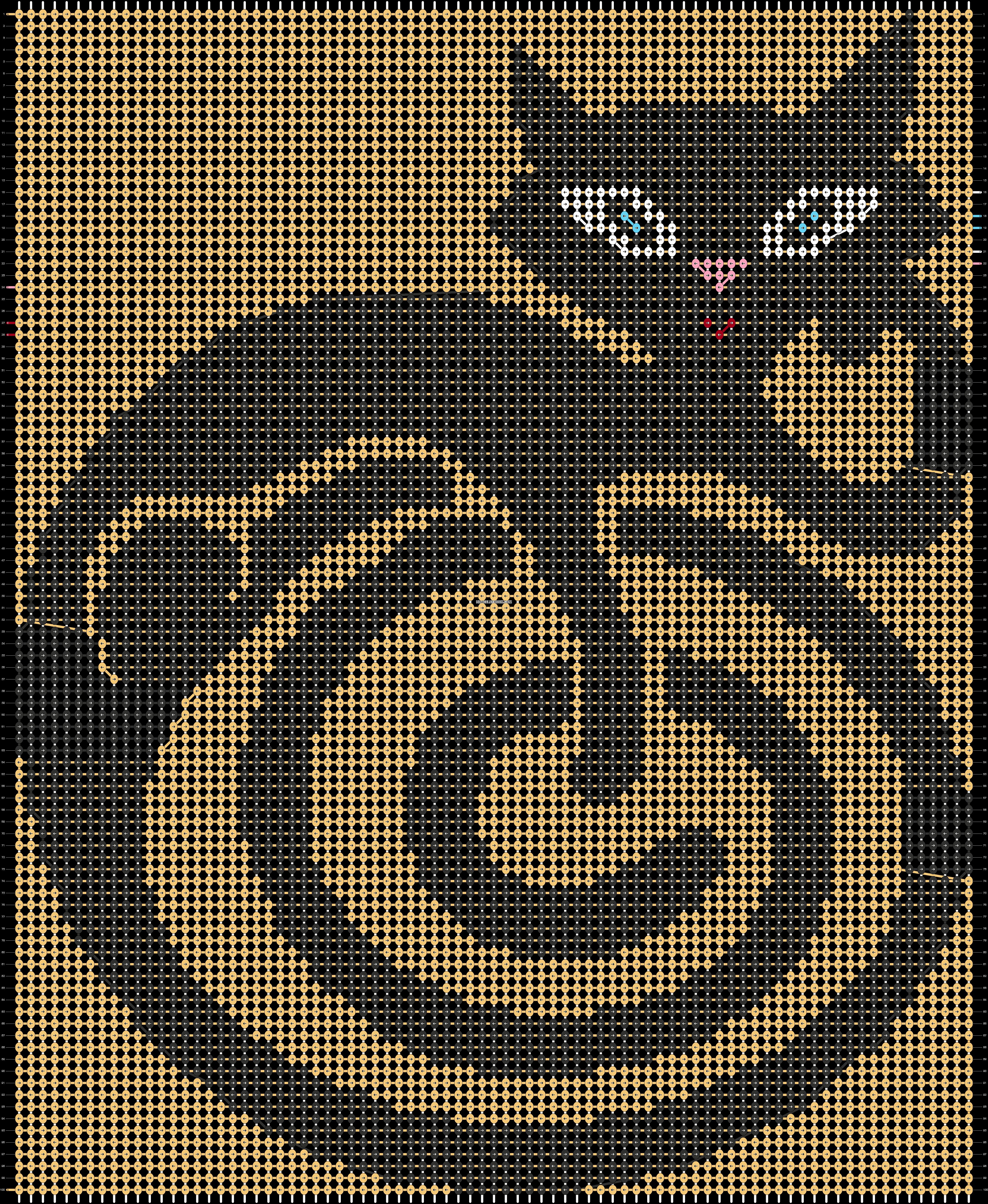 Alpha pattern #43758 pattern