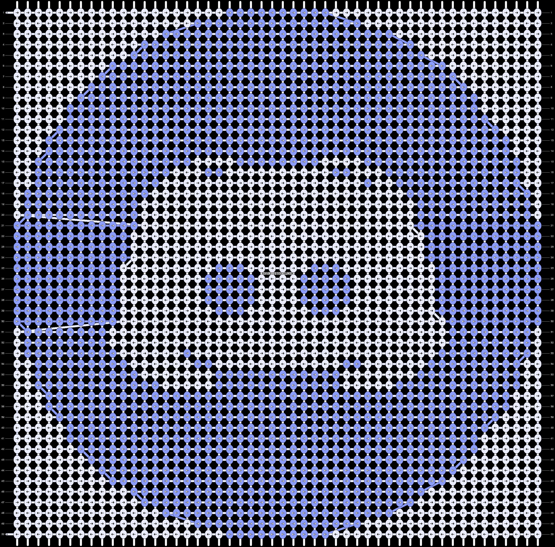 Alpha pattern #43764 pattern